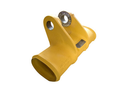Connector<br/>Purpose: Loader<br/>Weight: 220 kg<br/>Material: GS 30Mn5