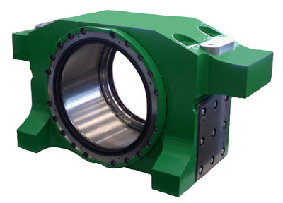 Bearing<br/>Purpose: Rolling mill<br/>Weight: 3,450 kg<br/>Material: GS 20Mn5